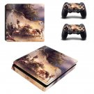 Famous oil painting ps4 slim skin decal for console and controllers