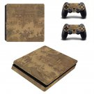 Along the River During the Qingming Festival ps4 slim skin decal for console and controllers