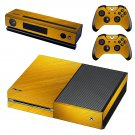 Wooden grain texture skin decal for Xbox one console and controllers