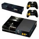 Metro Last Light skin decal for Xbox one console and controllers