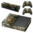 Civil war painting skin decal for Xbox one console and controllers