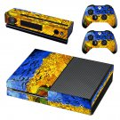 Vincent van gogh paintaing skin decal for Xbox one console and controllers