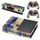 Sunrise Painting skin decal for Xbox one console and controllers