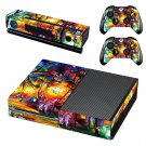 Acrylic painting skin decal for Xbox one console and controllers