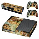 The Birth of Venus skin decal for Xbox one console and controllers