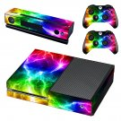 Abstract lightning skin decal for Xbox one console and controllers