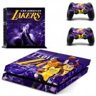 Los Angeles Lakers ps4 skin decal for console and 2 controllers