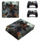 Transformers 4 Age of Extinction ps4 pro skin decal for console and controllers