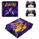 Los Angeles Lakers ps4 pro skin decal for console and controllers