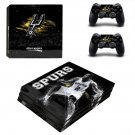San Antonio Spurs ps4 pro skin decal for console and controllers