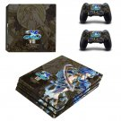 Ys VIII -Lacrimosa of Dana ps4 pro skin decal for console and controllers