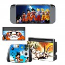 Dragon Ball Z Nintendo switch console sticker skin