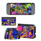 Splatoon Nintendo switch console sticker skin