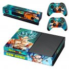 Dragon Ball Z Super skin decal for Xbox one console and controllers