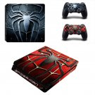 Spider-Man ps4 slim skin decal for console and controllers