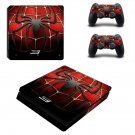 Spider Man 3 ps4 slim skin decal for console and controllers