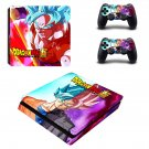 Dragon Ball Z Super ps4 slim skin decal for console and controllers