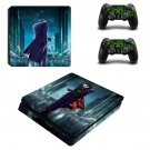 The Joker ps4 slim skin decal for console and controllers
