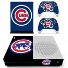 Chicago Cubs skin decal for Xbox one S console and controllers