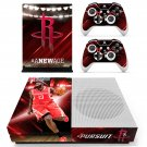 Houston Rockets skin decal for Xbox one S console and controllers