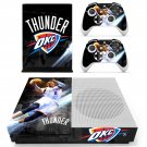 Oklahoma City Thunder skin decal for Xbox one S console and controllers