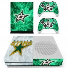Dallas Stars skin decal for Xbox one S console and controllers