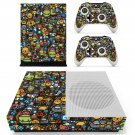 Emoji skin decal for Xbox one S console and controllers