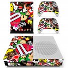 Eat sleep jdm domo skin decal for Xbox one S console and controllers
