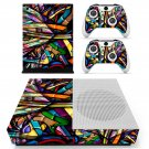 Colorful anime skin decal for Xbox one Slim console and controllers