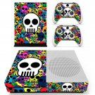 Skulls skin decal for Xbox one S console and controllers