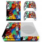 Michael jordan leroy neiman skin decal for Xbox one S console and controllers