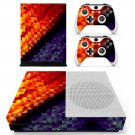 Prismic pattern skin decal for Xbox one S console and controllers