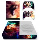 Fire wolf skin decal for Xbox one S console and controllers