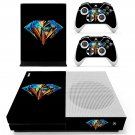 Colorful diamond skin decal for Xbox one S console and controllers
