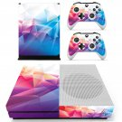 Geomatric pattern skin decal for Xbox one S console and controllers