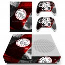 Amsterdamsche Ajax skin decal for Xbox one S console and controllers