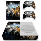 Crash wallpaper skin decal for Xbox one Slim console and controllers