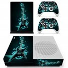 Electric Guiter skin decal for Xbox one S console and controllers