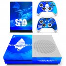 Sword art online skin decal for Xbox one S console and controllers