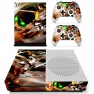 Attack on Titan 4 skin decal for Xbox one Slim console and controllers