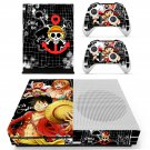 One Piece skin decal for Xbox one S console and controllers