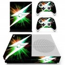 Lightning bolt skin decal for Xbox one S console and controllers