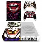 Suicie Squad skin decal for Xbox one Sconsole and controllers