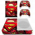 Superman skin decal for Xbox one S console and controllers