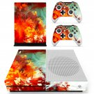Painted plant skin decal for Xbox one S console and controllers