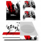 Fast & Furious skin decal for Xbox one S console and controllers