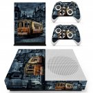 Tram wallpaper skin decal for Xbox one S console and controllers