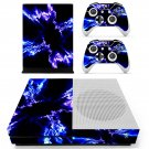 Electric Lightning  skin decal for Xbox one S console and controllers