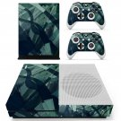 Burn color skin decal for Xbox one S console and controllers