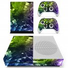 Tech Wallpaper skin decal for Xbox one S console and controllers